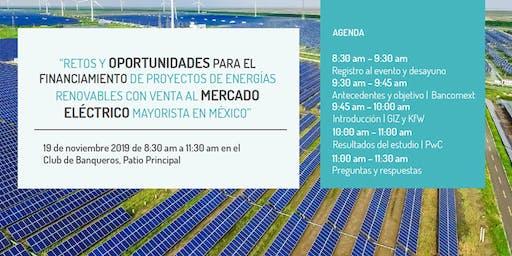 Financiamiento de energías renovables en el mercado spot.