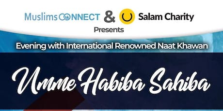 Blessed Mehfil with Umme Habiba tickets