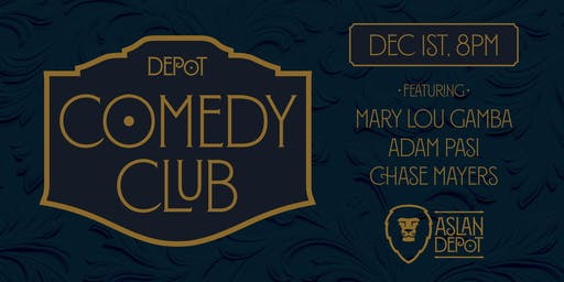 Depot Comedy Club: December Edition