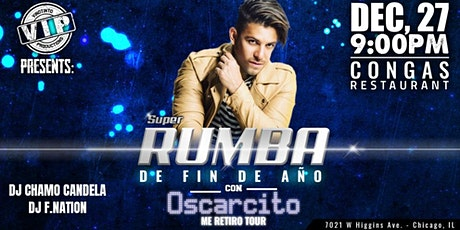 Oscarcito - Super Rumba de fin de año - Chicago 2019 tickets