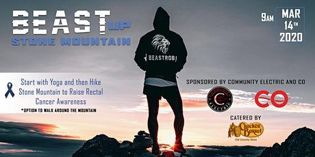 Beast Up Stone Mountain - Raise Colorectal Cancer Awareness  tickets