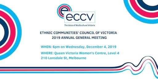 2019 ECCV Annual General Meeting