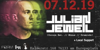 Julian Jeweil (Drumcode, Cocoon records, Minus)