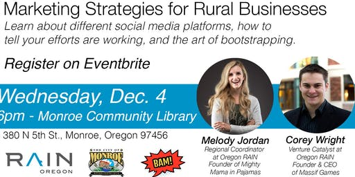 Marketing Strategies for Rural Businesses