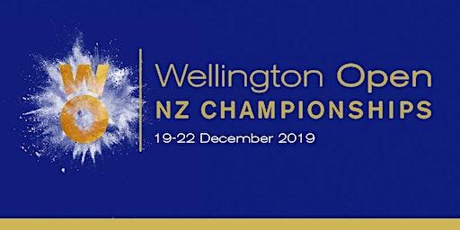 Wellington Open NZ Championships Finals Day 2019