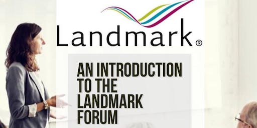 New Year, New View: An Introduction to The Landmark Forum