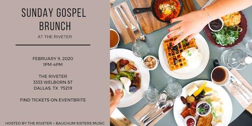 Sunday Gospel Brunch at The Riveter