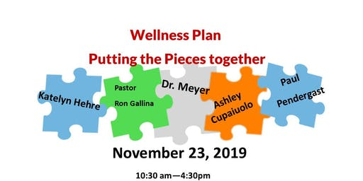 Wellness Plan-Putting the Pieces Together