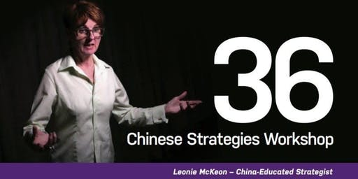Tame the Tiger – Negotiating Using the 36 Chinese Strategies
