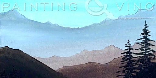 'Quiet Mountain Morning' Paint and Sip