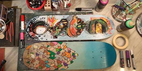 Skate Deck Art tickets