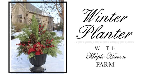 Winter Planter DIY