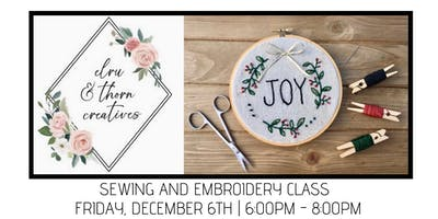 Sewing and Embroidery Class