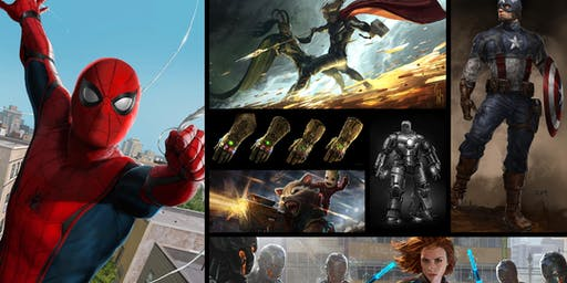 Gnomon Gallery Opening Night: Concept Art of the Marvel Cinematic Universe