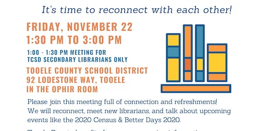 TALIP Meeting (Tooele Area Library and Information Professionals)