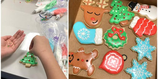 Cookie Decorating: Christmas Sugar Cookies at Fran's Cake and Candy Supplies