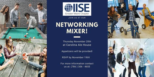 IISE's Networking Mixer