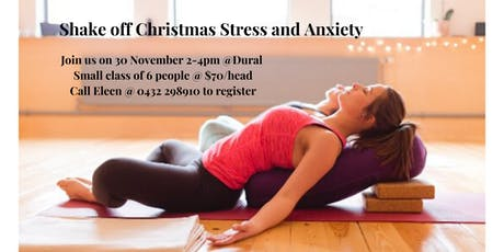 Shake off Christmas Stress and Anxiety tickets