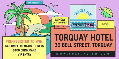Coastal Jam 2020 | Torquay tickets