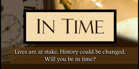 Live History Show - an interactive escape room theater event tickets