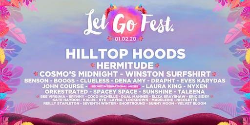 Let Go Fest. 2020 - Hilltop Hoods, Hermitude, Cosmo's Midnight & More $75+