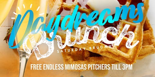 DAY DREAMS DAY PARTY SERIES + BRUNCH & FREE ENDLESS MIMOSAS