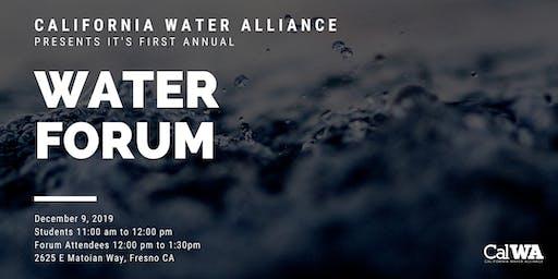 California Water Alliance: Water Forum