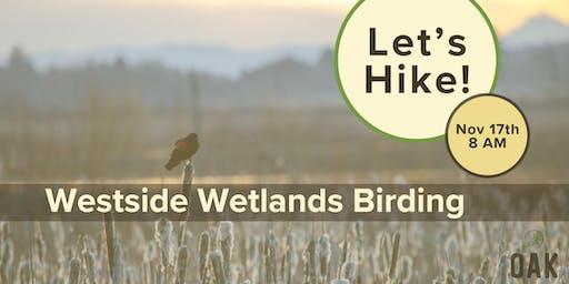 Westside Wetlands Birding