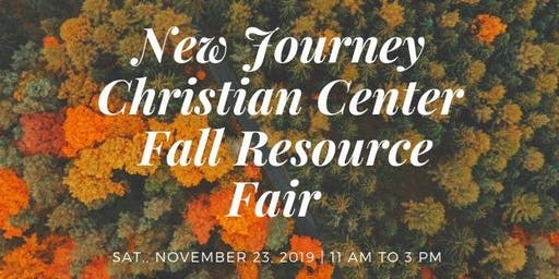 New Journey Christian Center COGIC Fall Resource Fairl