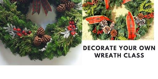 Decorate-a-Wreath Class