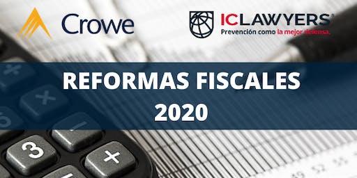 ✅Curso de Actualización Reformas Fiscales 2020