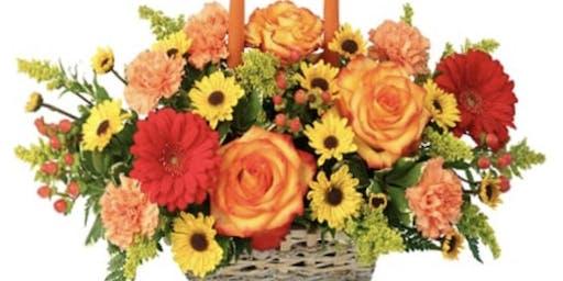 Thanksgiving Flower Bar