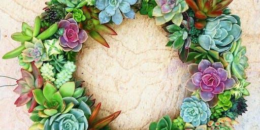 DIY Succulent Wreaths
