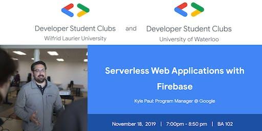 Workshop: Serverless Web Applications with Firebase - BA102