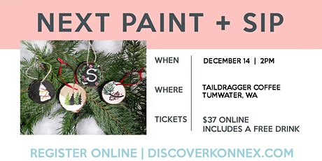 Christmas Ornament  Painting Class in Tumwater tickets