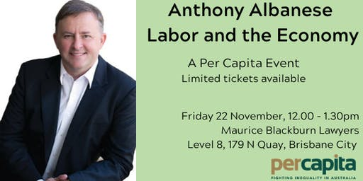 Anthony Albanese: Labor and the Economy