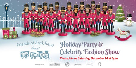 2019 Toys for Tots Holiday Party & Celebrity Fashion Show tickets