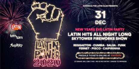 Latin Power NYE 2020 Rooftop Deck Latin Party tickets