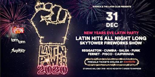 Latin Power NYE 2020 Rooftop Deck Latin Party