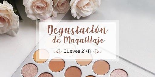 DEGUSTACIÓN DE MAQUILLAJE