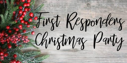 First Responders Christmas Party