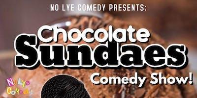 No Lye Presents Chocolate Sundaes