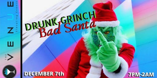 Bad Santa Drunk Grinch