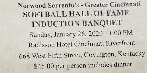 20`19 Norwood Sorrento's Greater Cincinnati Softball Hall of Fame Banquet