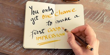 Let your first impression create the impact you want! in Palo Alto tickets