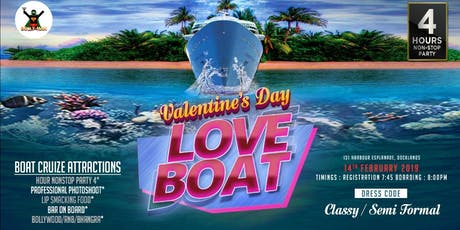 BOLLYWOOD VALENTINES DAY LOVE BOAT tickets