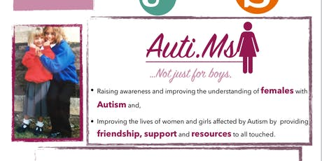 Auti.Ms Girls and Autism in the classroom talk tickets