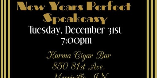 New Year's Perfect Speakeasy