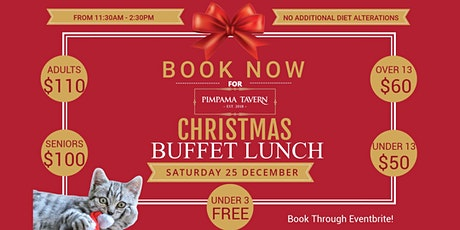 2019 Christmas Day Lunch - Pimpama Tavern tickets