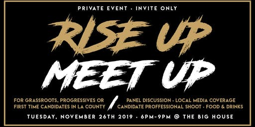 Rise Up Candidate Mixer